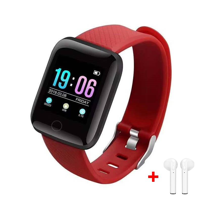 Bluetooth Fitness Tracker with Blood Pressure Monitor