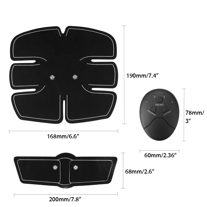 Assorted Wireless Muscle Stimulator with Pads