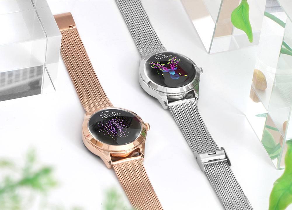 Women's Waterproof Touch Screen Smart Watch