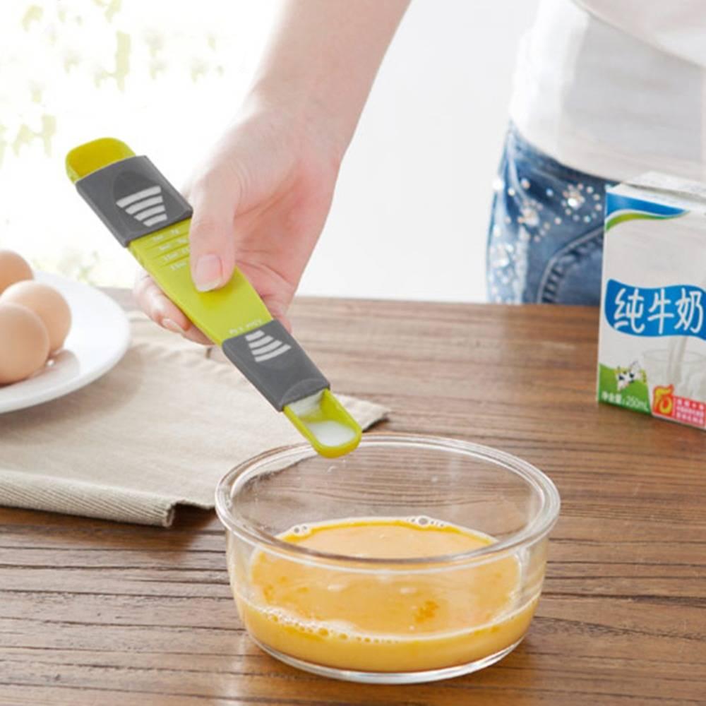 Adjustable Double End Measuring Spoon